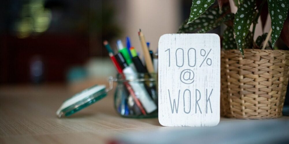 仕事に傾注